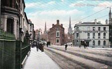 Hertford Street Coventry old postcard used by Valentines