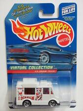 HOT WHEELS 2000 VIRTUAL COLLECTION  ICE CREAM TRUCK #144  WHITE