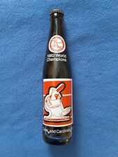 1982 World Champions Cardinals Coke Bottle