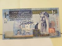 Jordan 10 Dinars 2004 UNC P36a