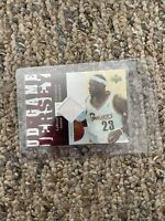 2006 - 2007 Upper Deck UD Reserve LeBron James Jersey Patch Card - RARE