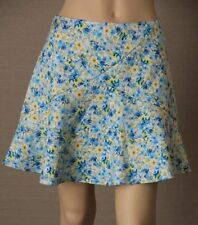 Above Knee Hand-wash Only Floral Mini Skirts for Women