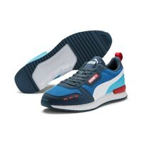 Puma R78 Unisex Sneaker Low Top Turnschuhe 373117 Palace Blue Blau