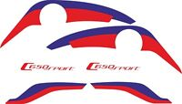 Kit Adhesivos Pegatinas C650 Sport , decals C650 , Stickers C650