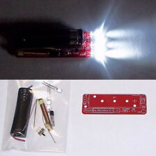 3 LED Joule Thief - Flashlight UNBUILT PCB DIY electronics learning project KIT