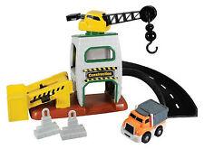 Kid Galaxy GoGo City Construction Site Race Car Track Toy 2+ Years Boys Girls