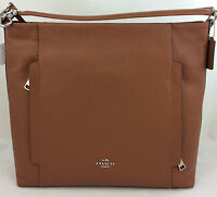 New Coach F34311 Large Scout Hobo Shoulder Crossbody Bag Handbag Purse Brown