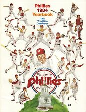 Philadelphia Phillies--1984 Yearbook