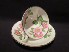 Stanley Beautiful Vintage Tea Cup & Saucer Pink Floral Design #963/115