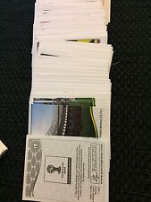 NEW Panini World Cup 2014 Football Stickers -Brazil -  Finish your album UPDATED