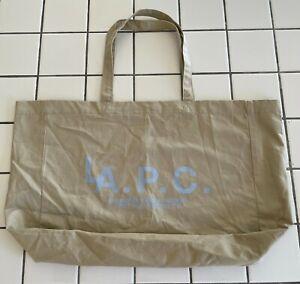 A.P.C. LA Exclusive Tote Bag Beige