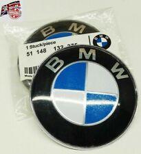ORIGINAL OEM BMW 82MM BONNET BADGE SUITS E46 3 SERIES VEHICLES