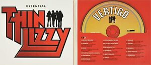 THIN LIZZY : THE ESSENTIAL THIN LIZZY (3 CD DIGIPAK) * New & Sealed * PP