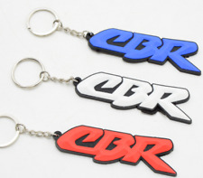 Key Ring Key Chain 3D Soft Rubber For honda CBR1000RR 650F 600RR 500R 300R 125R