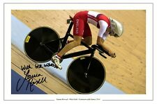 Joanna Rowsell Hand Signed Great Britain 6x4 Photo The Latest Fashion London 2012