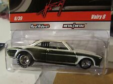 Hot Wheels Wayne's Garage Real Riders Tires Vairy 8