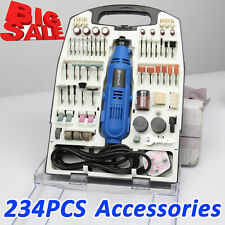 Rotary Multi tool 135W with Variable Speed 234pc Accessory Set DREMEL Compatible