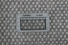 Casio C-801 White Vintage Crystal NOS RARE