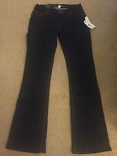 NWT Womens Size 27 Kenneth Cole Dark Indigo Boot Cut Jeans