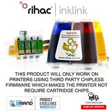 Rihac Pigment bulk ink CISS Epson WF-2830 alternative for 212 212XL cartridges