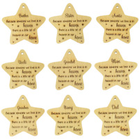 Bereavement Christmas Decoration Nanny Grandad Mum Dad Grandma Brother Sister