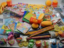 100 Stationery Party Bag Fillers Toys Boys Girls collecte PTA Job Lot Pinata