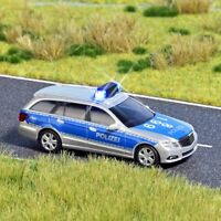 Busch 5626 H0 Mercedes E-Klasse Polizei beleuchtet NEU OVP,