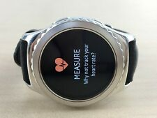 ✅Samsung Gear S2 Classic 40mm Bluetooth Smartwatch Original leather strap Silver