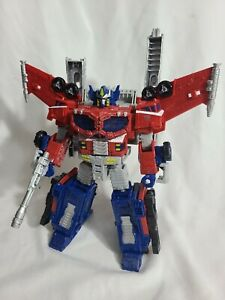 TRANSFORMERS War for Cybertron: Siege Galaxy Upgrade Optimus Prime Complete!!