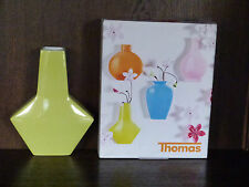 1 Wandvase Vase 14cm eckig Sunny Day von Thomas Rosenthal lime gelb-grün
