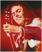 DAVE HILL - Slade - hand signed Autograph Autogramm - COA Zertifikat 20x25,5 cm