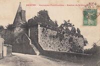 BEAUNE anciennes fortifications bastion de la grosse tour éd ronco timbrée 1922