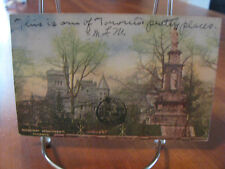 "1906 ""Ridgeway Monument"" Toronto Canada Postcard"