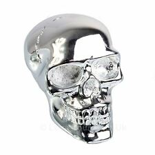 Silver Skull Gear Shift Knob Nemesis Now Gothic Gearstick 5cm High
