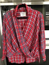 Abercrombie And Fitch Womans Plaid Shirt. Size XS