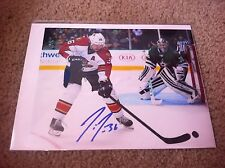 Jussi Jokinen Autographed 8x10 Photo Lightning Penguins Hurricanes Panthers