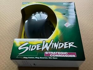 Microsoft Sidewinder Strategic Commander USB PC Gaming Controller Mouse OPEN BOX