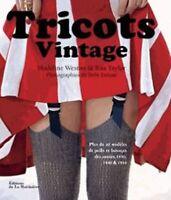 Tricots vintage - Madeline Weston - Rita Taylor - De la Martinière