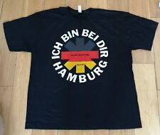 Red Hot Chili Peppers ich bin beidir Hamburg Deutschland 2011 selten X L T Shirt NEU