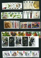 GR. BRITAIN 1993 Commemorative Year, 9 sets Mint NH