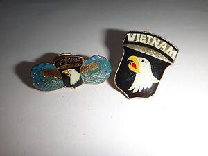 Ensemble De 2 États-Unis 101st Airborne Division Revers Broches