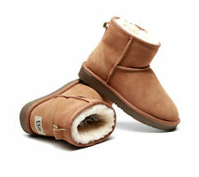 UGG Ankle Boots 100% Australian Sheepskin Unisex Water and Slip Resistant