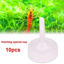 New listing 10pcs Aquarium Brine Shrimp Incubator Cap Artemia Hatcher Regulator Valve Jf
