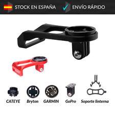 Soporte de Potencia para Garmin Cateye Bryton GoPro y Linterna Manillar Bici GPS