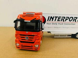 Mercedes-Benz Interport Container Truck Model 1/50 Die-Cast Model New in Box