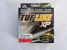 TRESSE TUF LINE XP 0.20mm 137m 12 kg rouge