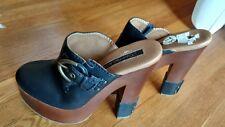 Calvin Klien Talisa platform clog heels size 7.5  EUC