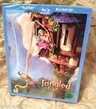 Walt Disney TANGLED 3D Blu-Ray KOREA Exclusive Full Slipcover STEELBOOK RARE OOP