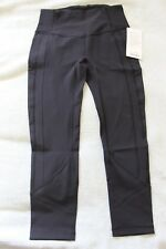 Lululemon All The Right Places Crop II 23'' Black Size 8
