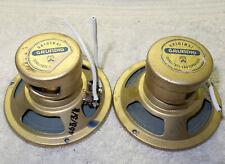 1 Pair - Grundig Tweeter Speakers - 4 ohms - Vintage